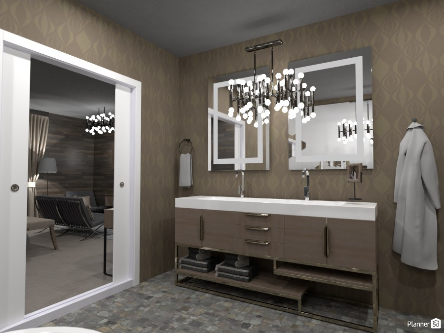 Contest hotel room.  Bathroom 3540920 by Doggy (please vote) image