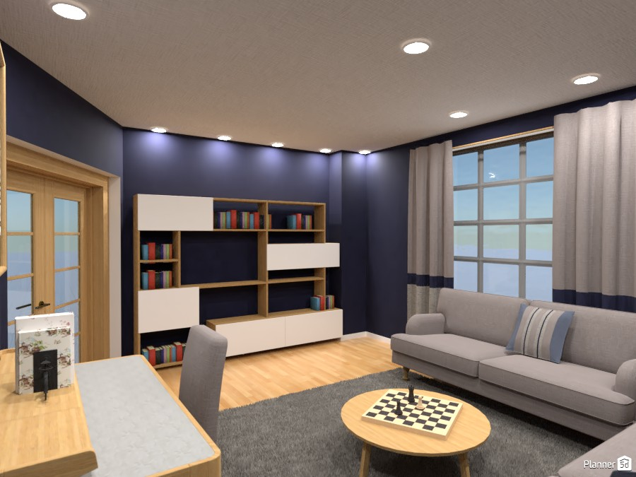 Home office, Render 2 3698162 by Designer (doggy) image