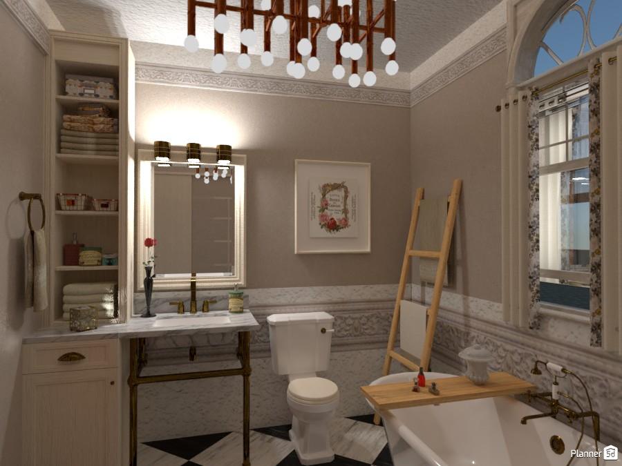 Small Luxury Bath 3216832 by Micaela Maccaferri image