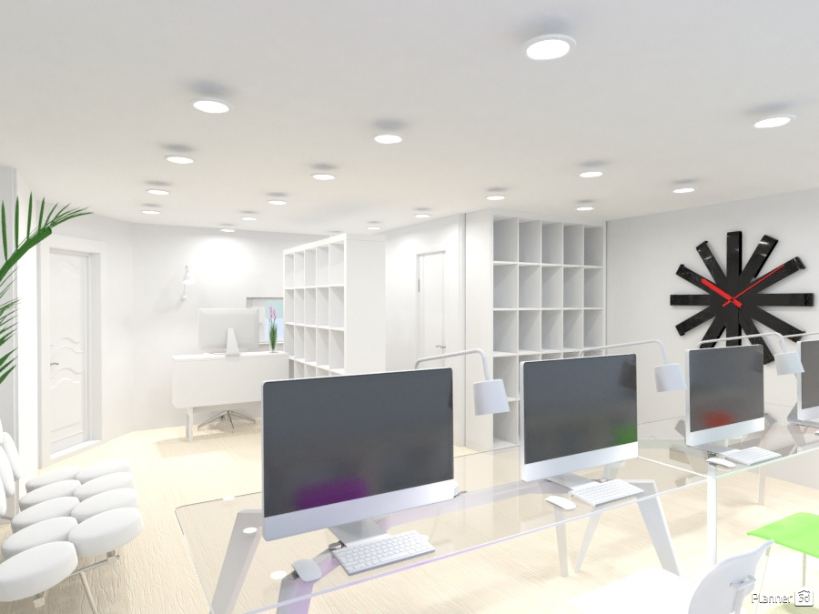 ideas despacho Oficina Ideas Para Despachos Planner 5D