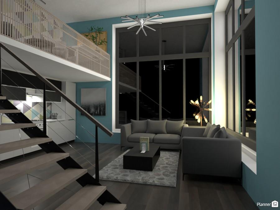 Modern loft 3685954 by anna image
