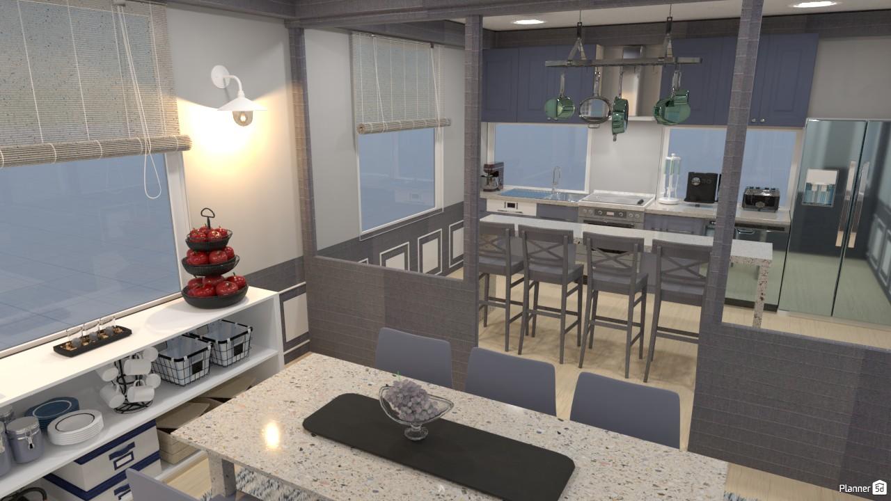 Cocina sencilla/ comedor. 3477684 by Hall Pat image