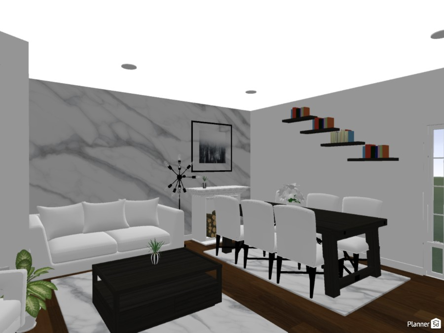 Living and Dining Room 83855 by Ofi Lee image