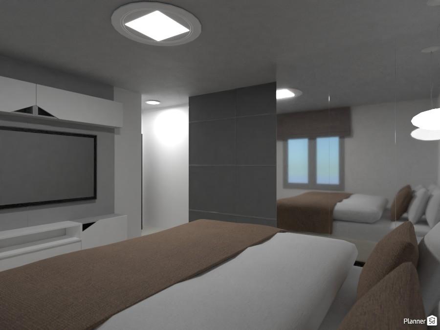 apartamento de 2 quartos e 1 banheiro 81518 by Rayslla Andrade image