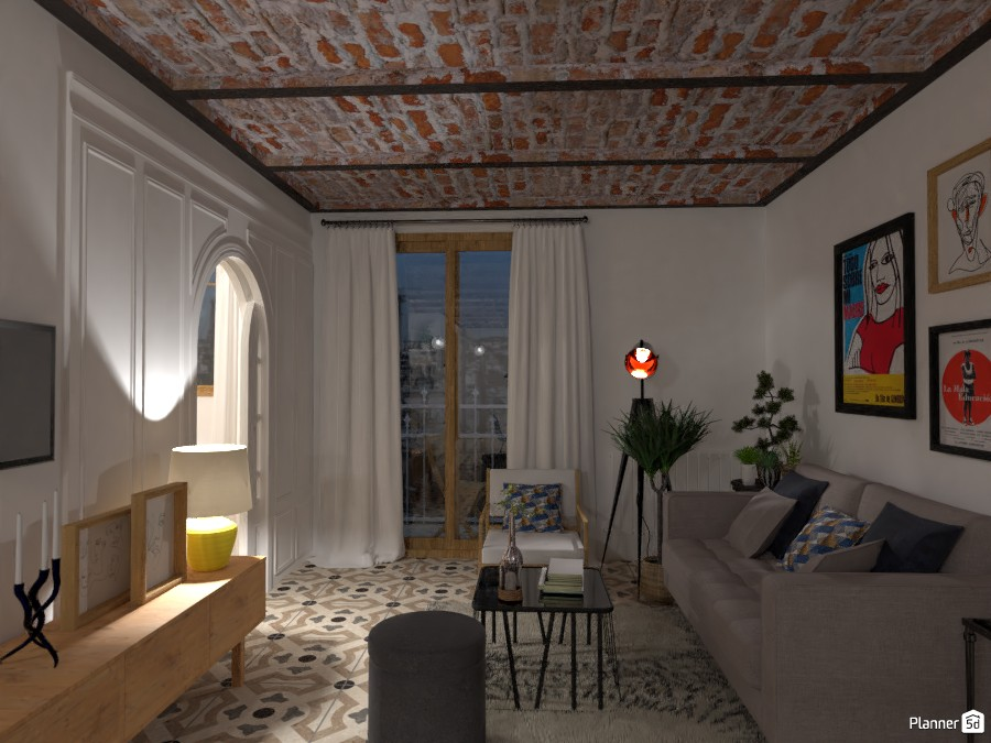 Small City Apartment for a Designer 81981 by Lucija Marko image