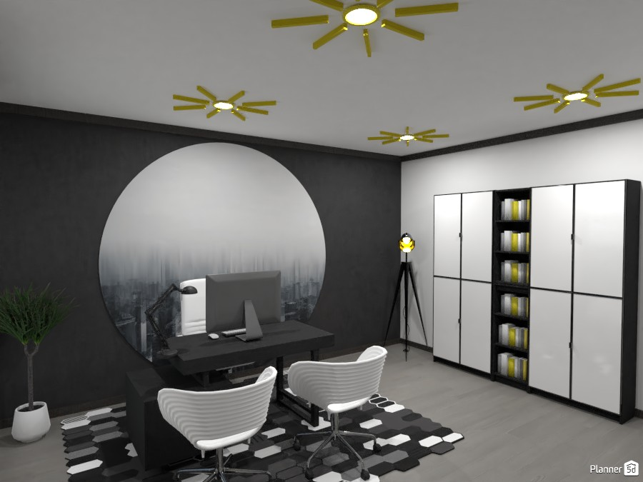 Contest: black and white office II 3592452 by Elena Z image