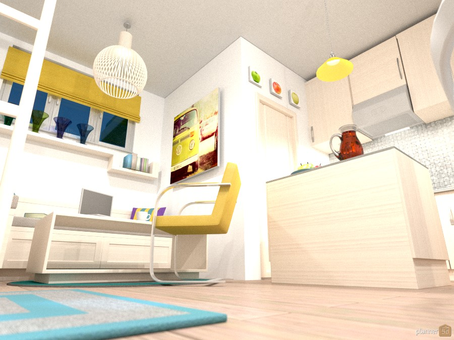 Tiny Home #1 - Cat's Eye View 1267283 by Pisces Rising Design image