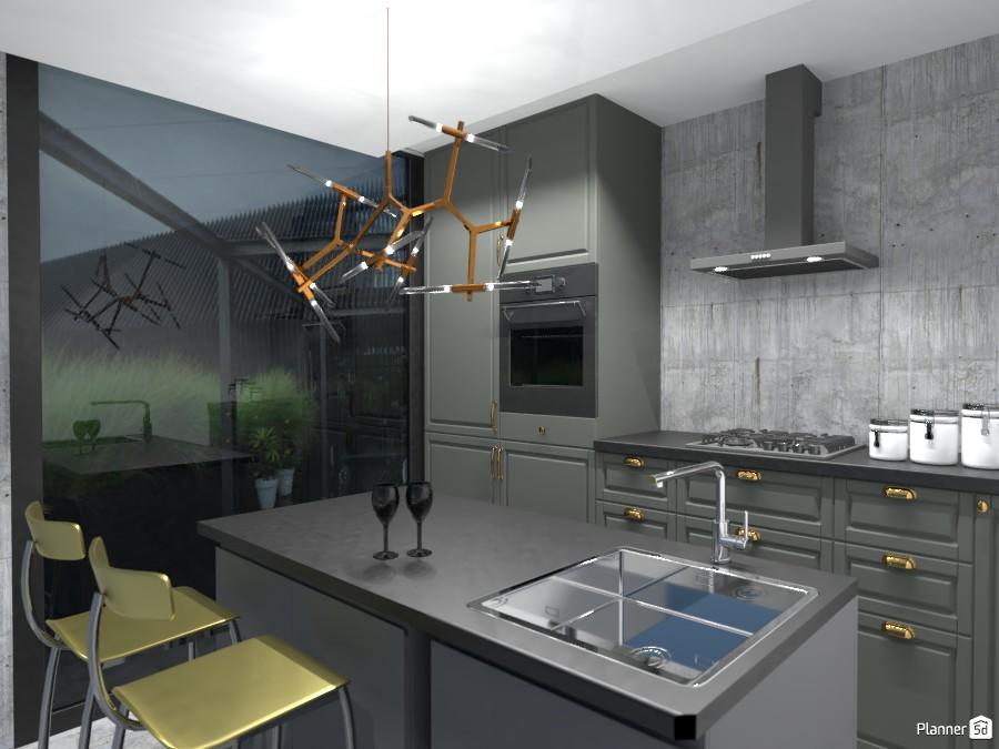 modern kitchen 4110782 by Valery G. image