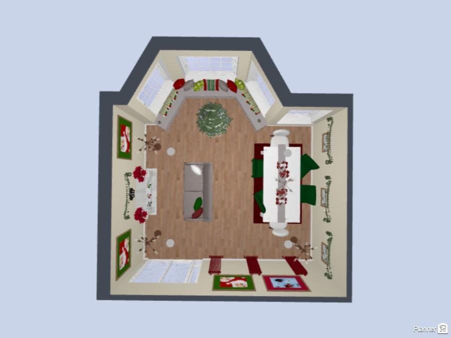 Ol' Christmas House 83822 by Cute Doggy image