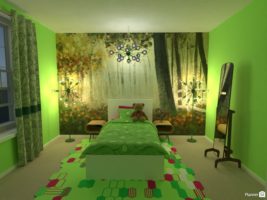 Green Bedroom 3669663 by Erin image
