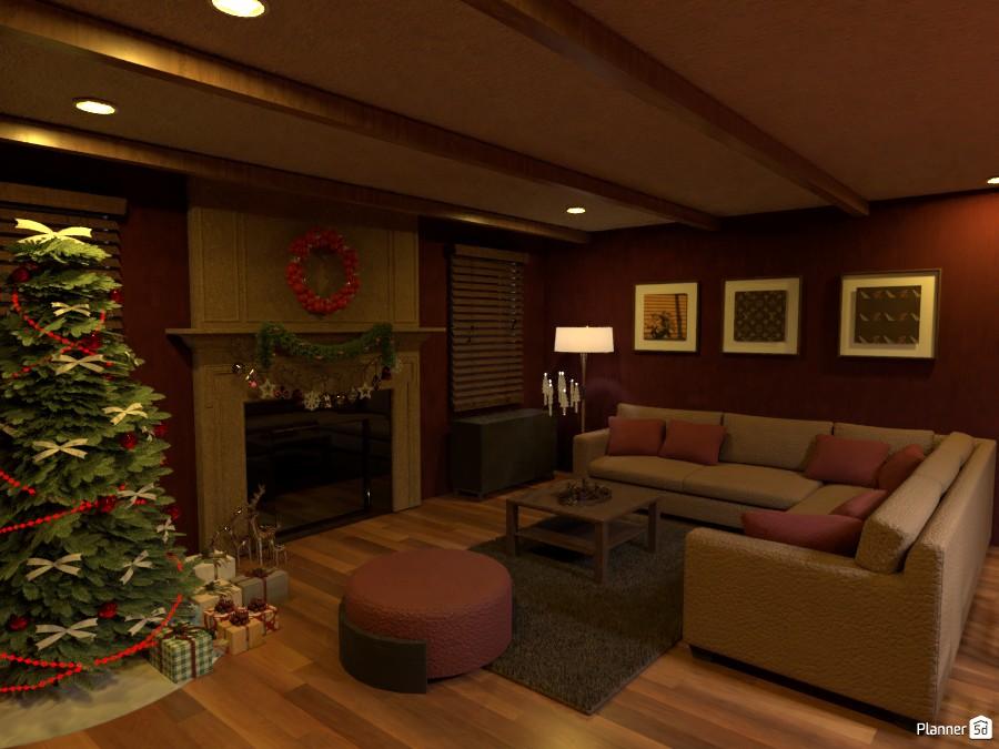 Living Room Christmas Vibes 3792925 by Megan image