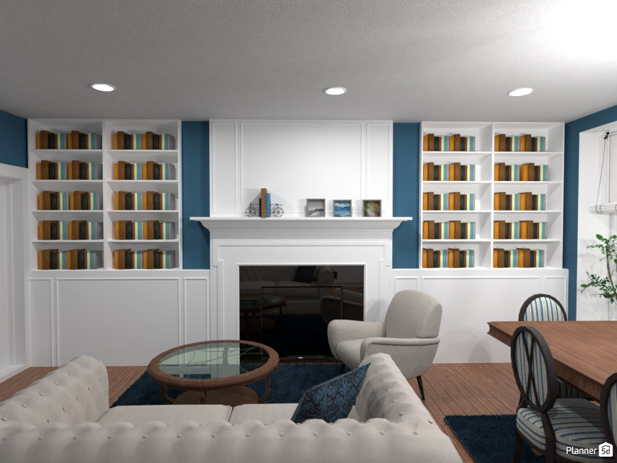 Contest: classic kitchen and living room 3956382 by Elena Z image