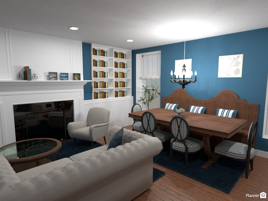 Contest: classic kitchen and living room II 3956384 by Elena Z image