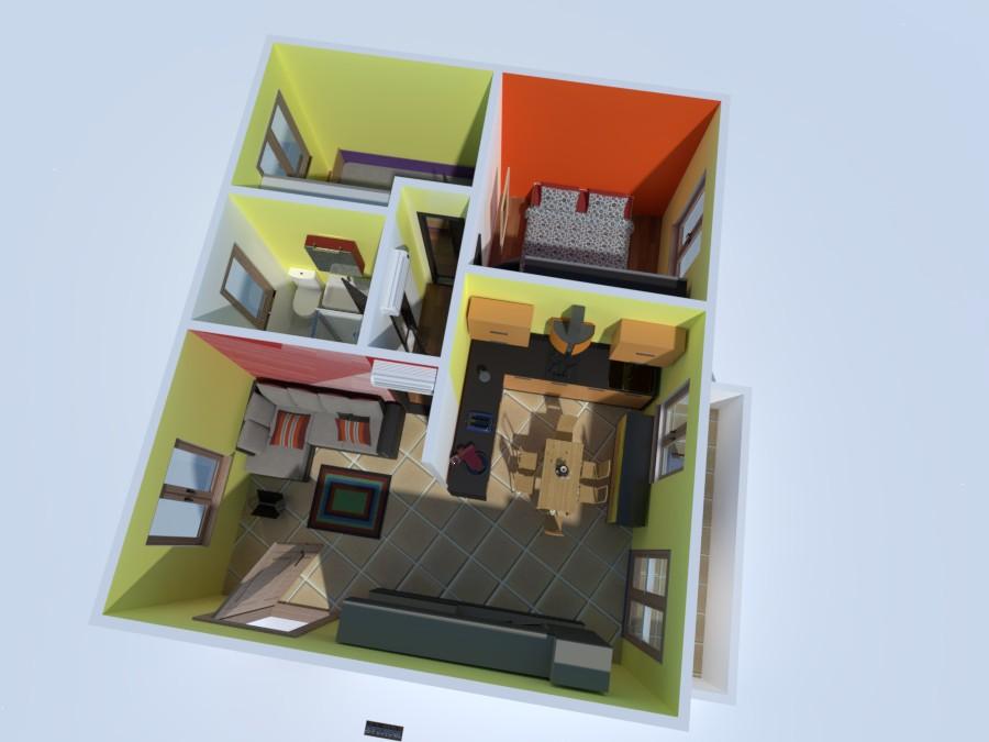 Appartamento in quadrifamiliare vista colline 3334389 by Fiore immobiliare image
