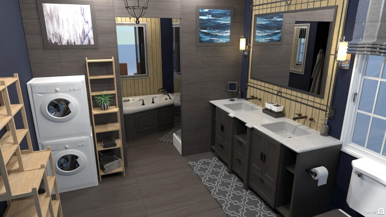 Country Bathroom Render 3889090 by Kelsy image