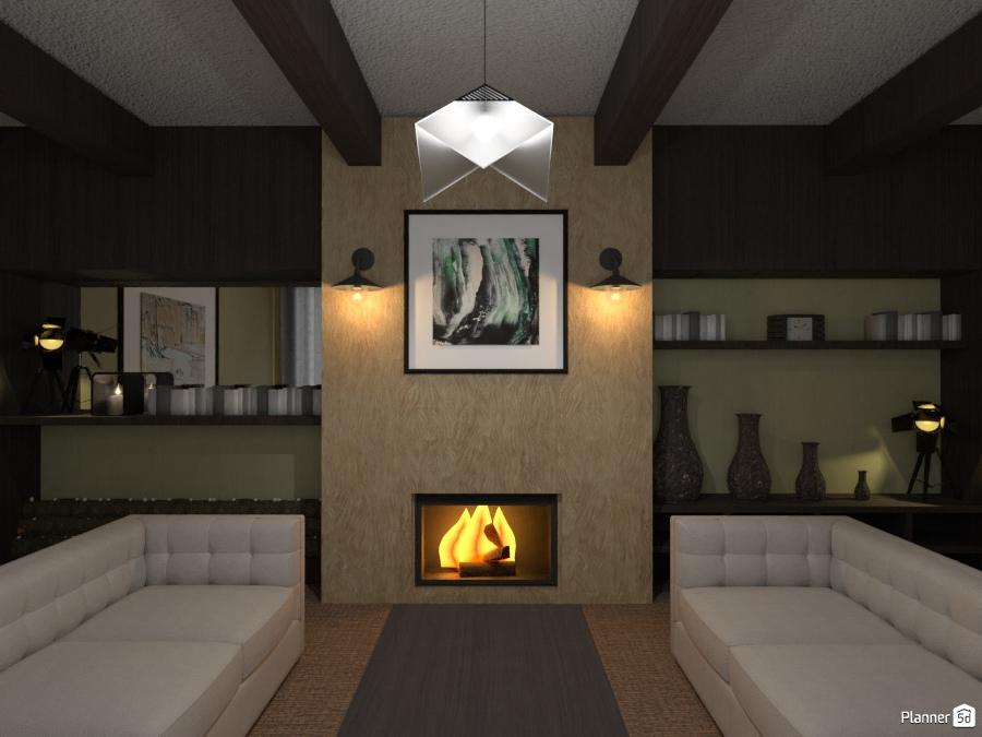 Fireplace ~ 003 2645500 by Manu Deronne image