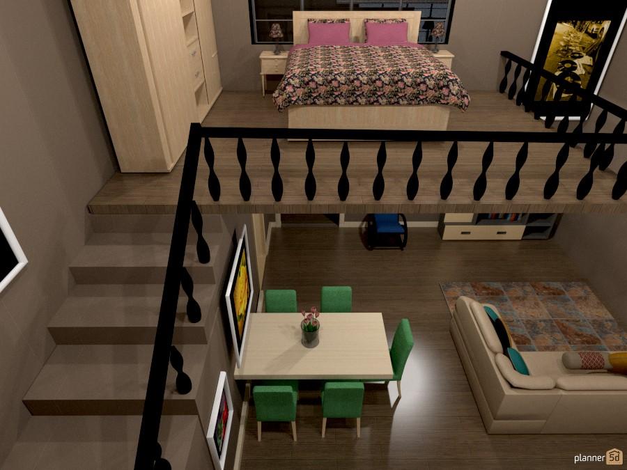 flower pic loft - Apartamento ideas - Planner 5D