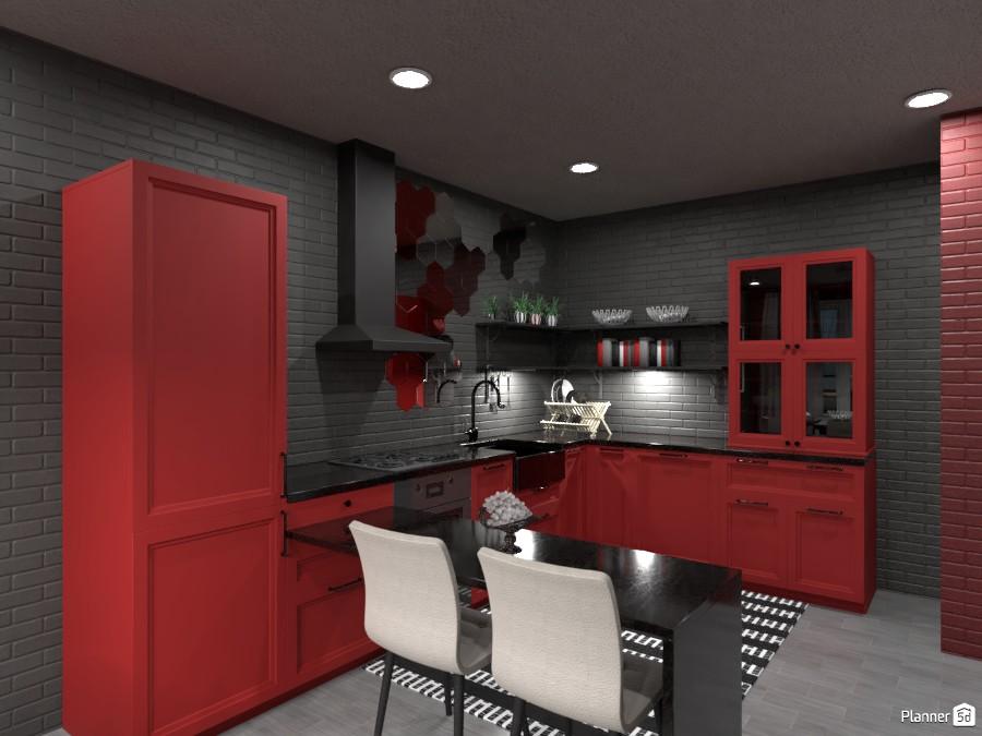 Dark kitchen contest I 3438138 by Elena Z image