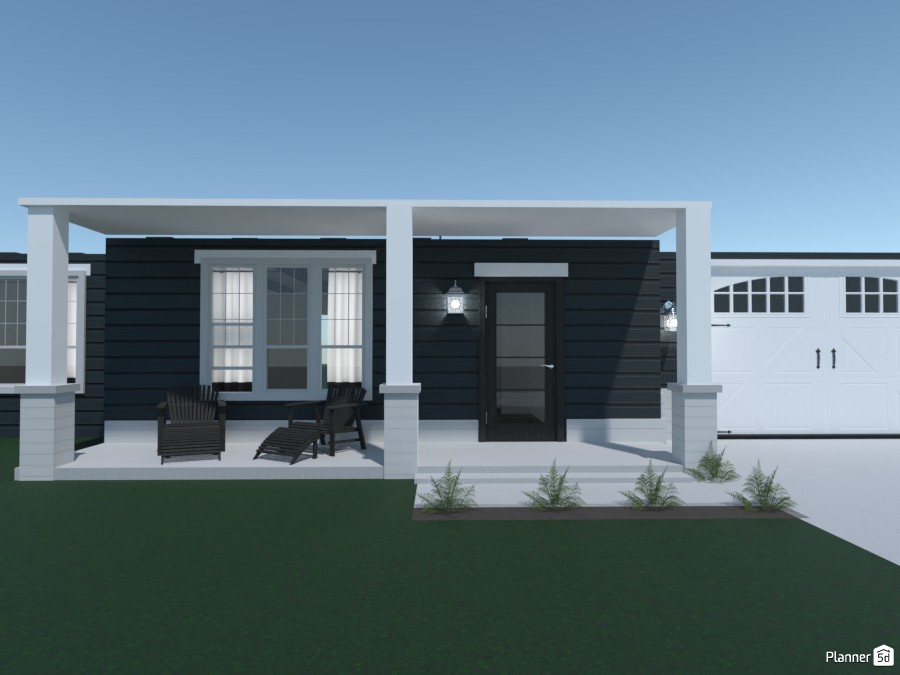 Cute Navy Blue House 4264250 by Anonymous1 image