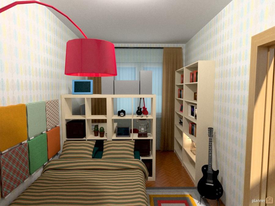 Спальня 11 кв.м в доме 1-528 693025 by Светлана image
