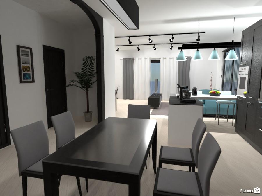 Sala integrada com a cozinha 3295968 by Larissa image
