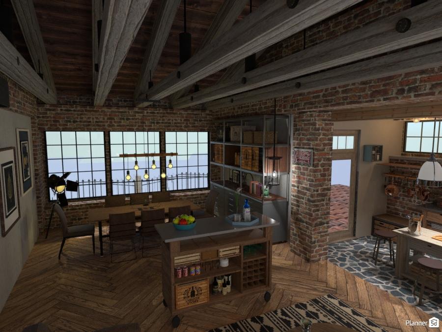 Rifugio sul tetto n.1 - Ideas para terrazas - Planner 5D