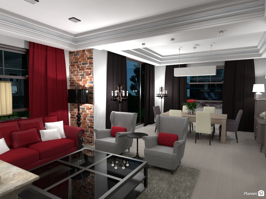 ideas apartment house furniture decor diy living room lighting renovation household dining room ideas