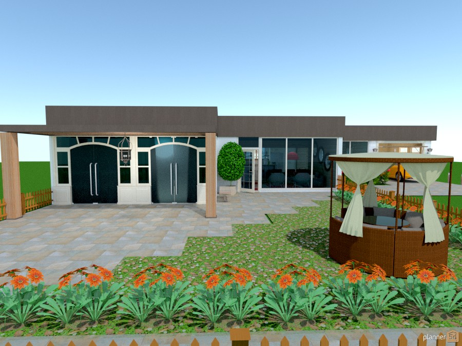 Modern House 469043 by Fernanda Couto image