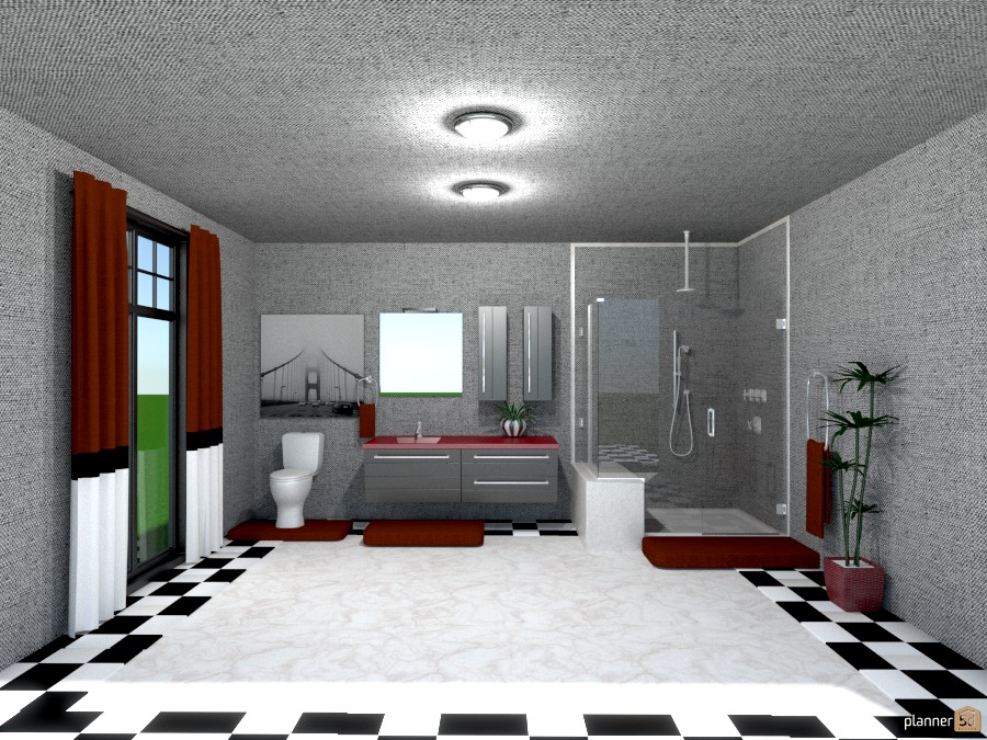 black and white checkered floor 812733 by Joy Suiter image