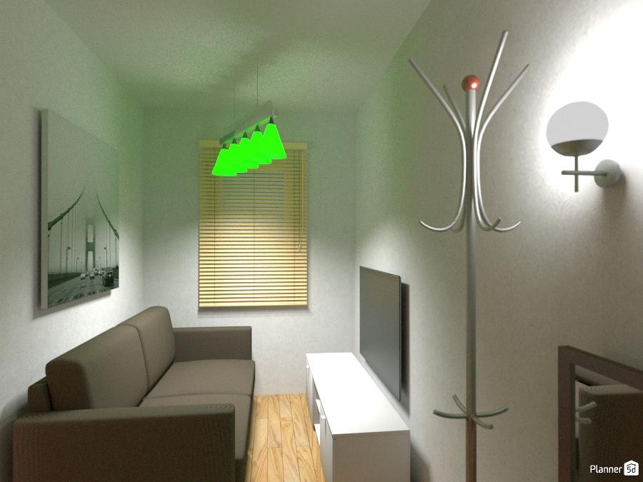 небольшая комната 1310705 by Леанід Сакалоўскі image