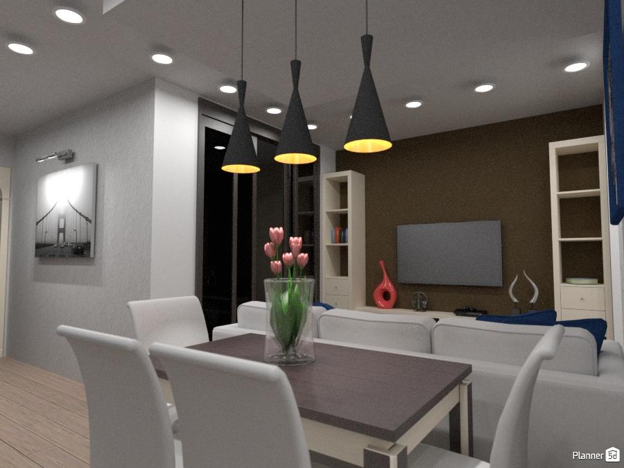 гостиная кухня Ideas Para Apartamentos Planner 5d