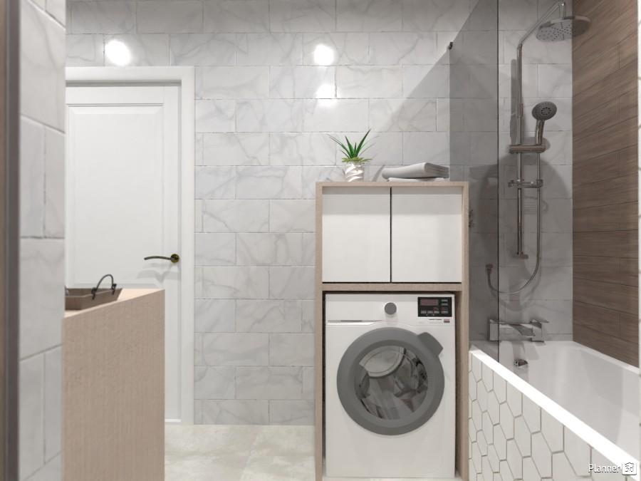 Шкаф для стиральный машины 3436035 by Ksenia image
