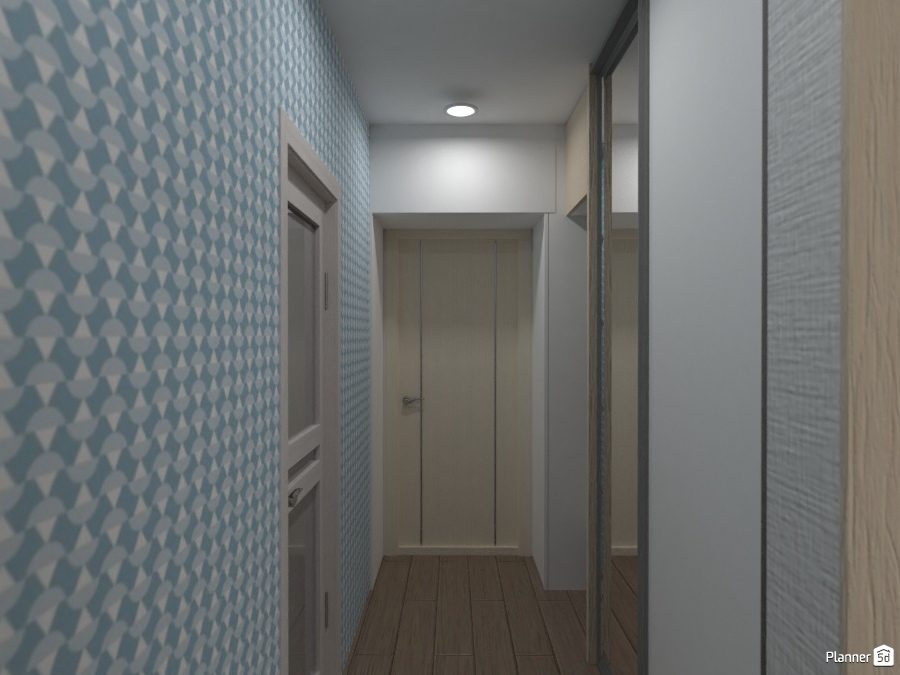 Дизайн проект Smart квартиры в скандинавском стиле 73520 by Татьяна Максимова image