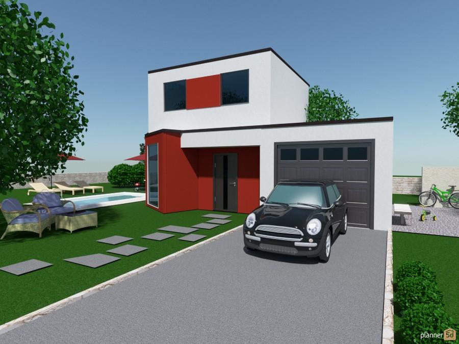 Modern family home 529716 by Katerina Sokorenko image