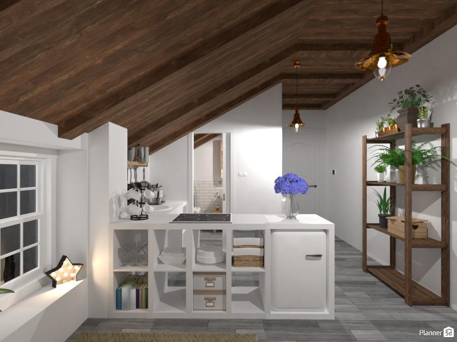 Attic Apartment / Kitchen 3519326 by Lucija Marko image