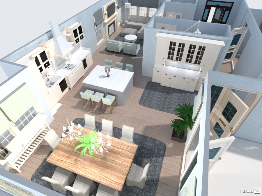1st Floor Layout Free Online Design 3d House Ideas User 5215153 By Planner 5d