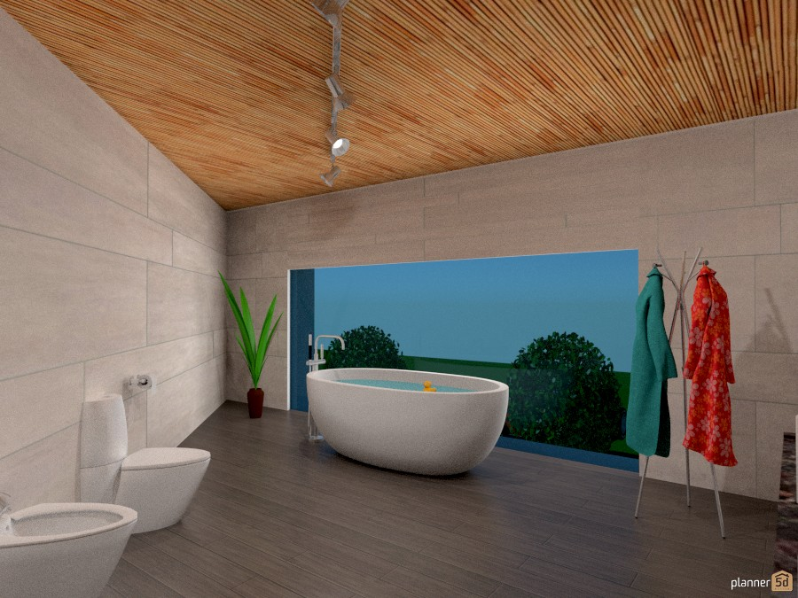 BAGNO MODERNO - House ideas - Planner 5D