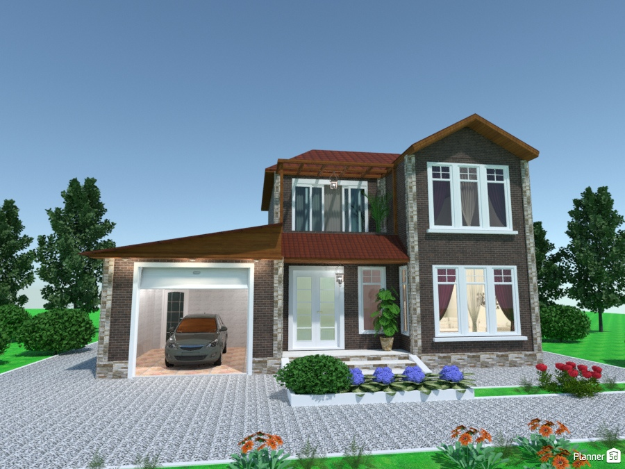 House100ru Ideas Para Casas Planner 5d