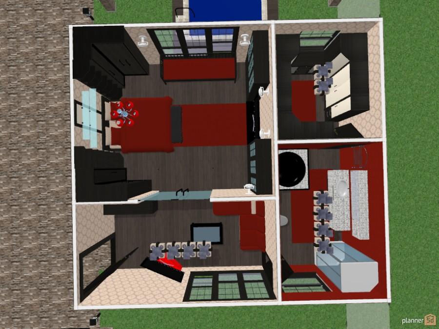 Maison A Deux Etage Avec Dependance Free Online Design 3d House Floor Plans By Planner 5d