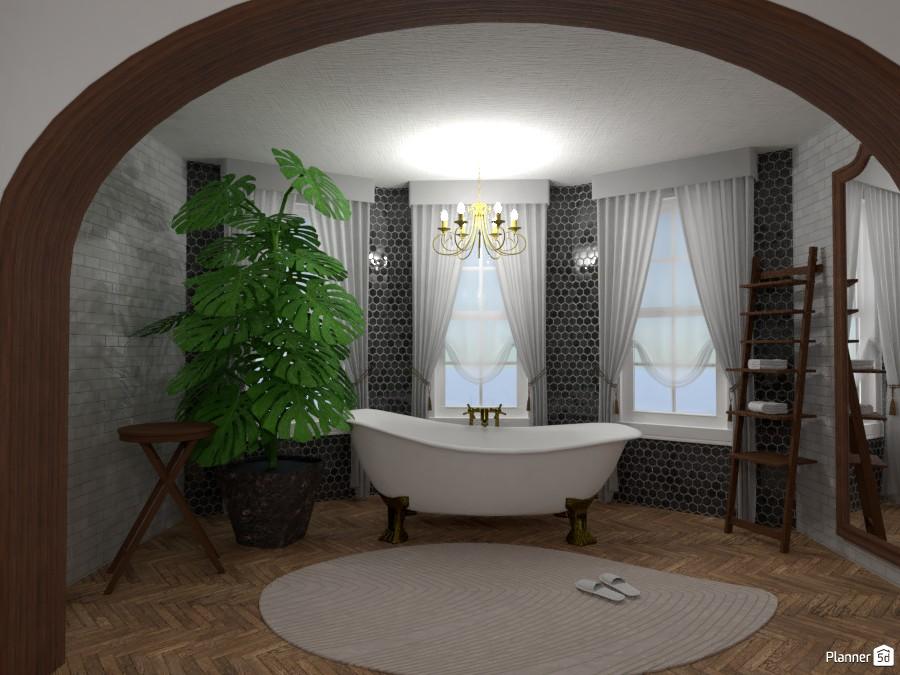Proyecto baño estilo vintage 4344334 by Camila Neira image