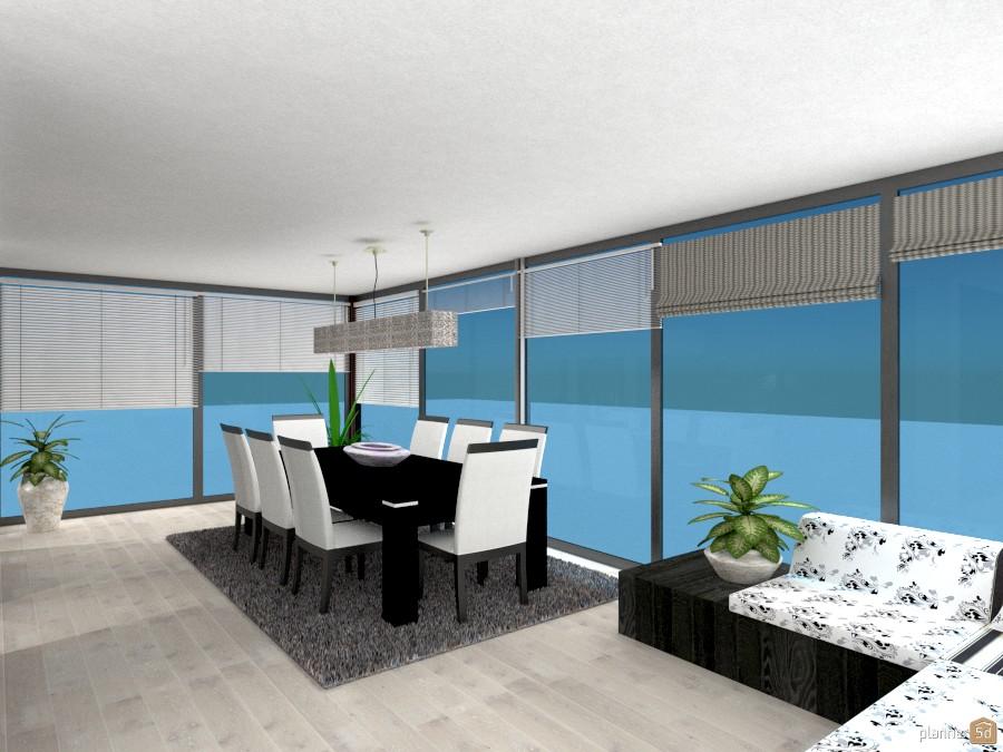 Sala da pranzo in veranda - House ideas - Planner 5D