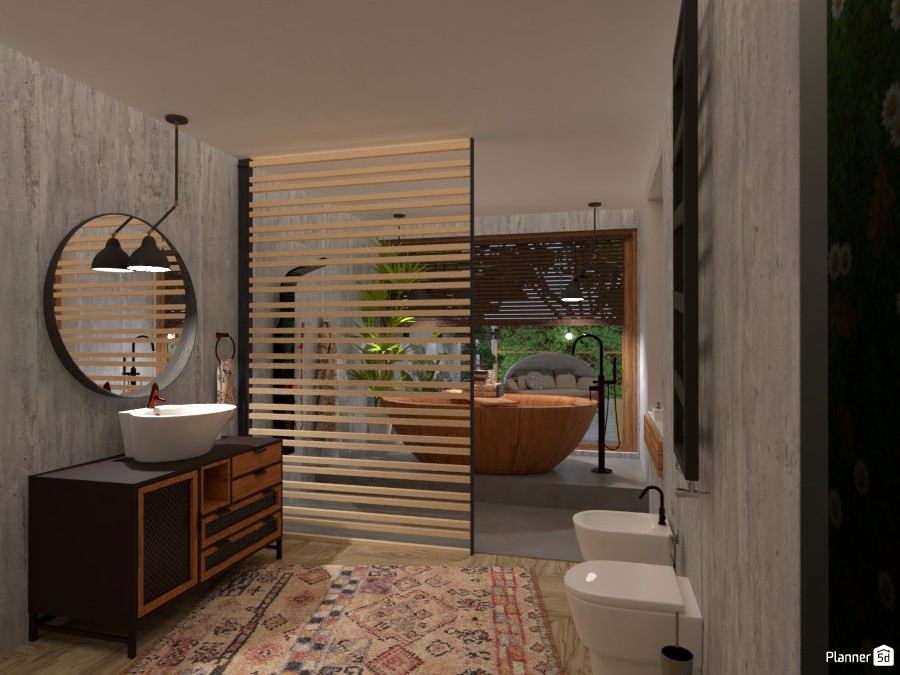 Shelter House: Bathroom 4206281 by Fede Lars image