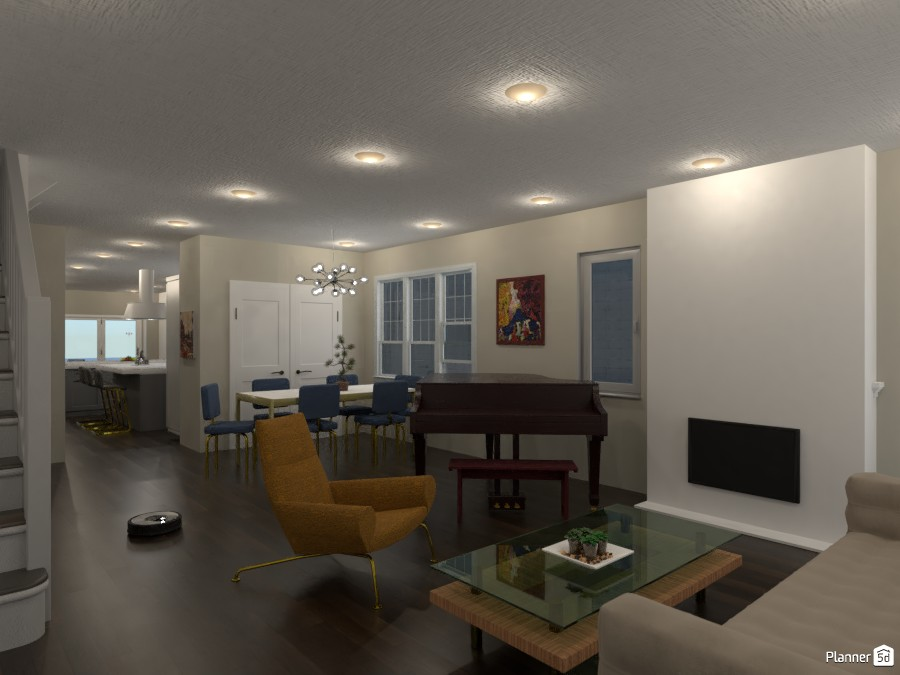 Living Room 1 3361217 by Zak Whichard image