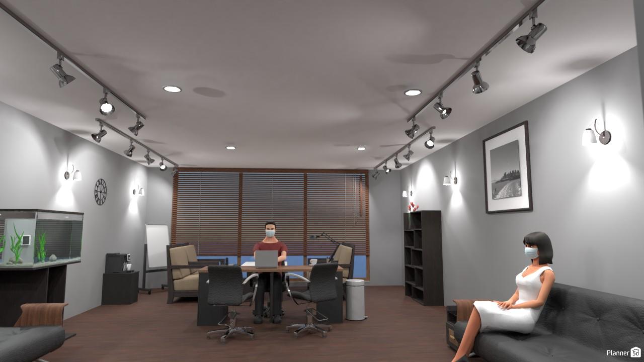 Custom Office Render 4315240 by John Hunter image