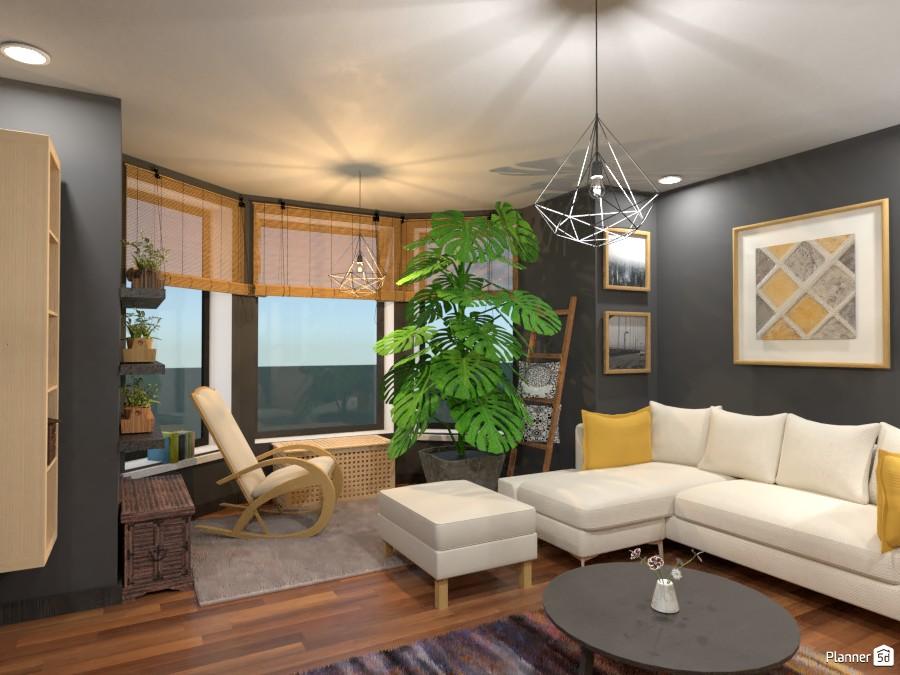Scandinavian living room 1 3643201 by Rita Oláhné Szabó image