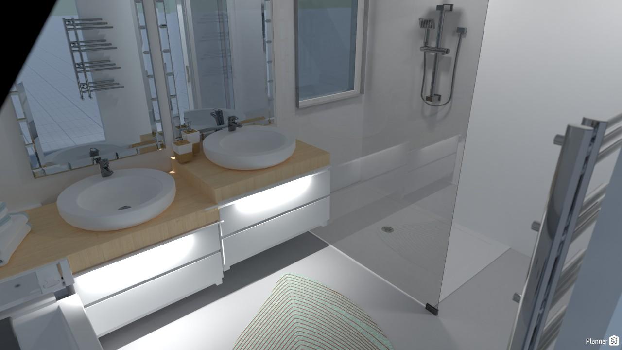 Sloped Bathroom 79549 by rham image