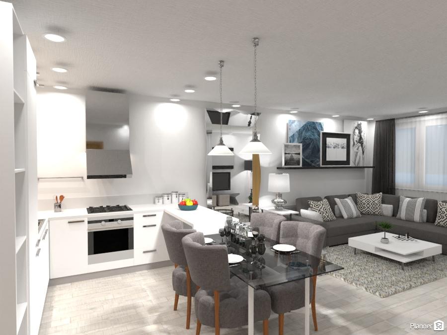 Cozy Living room - Apartment ideas - Planner 5D