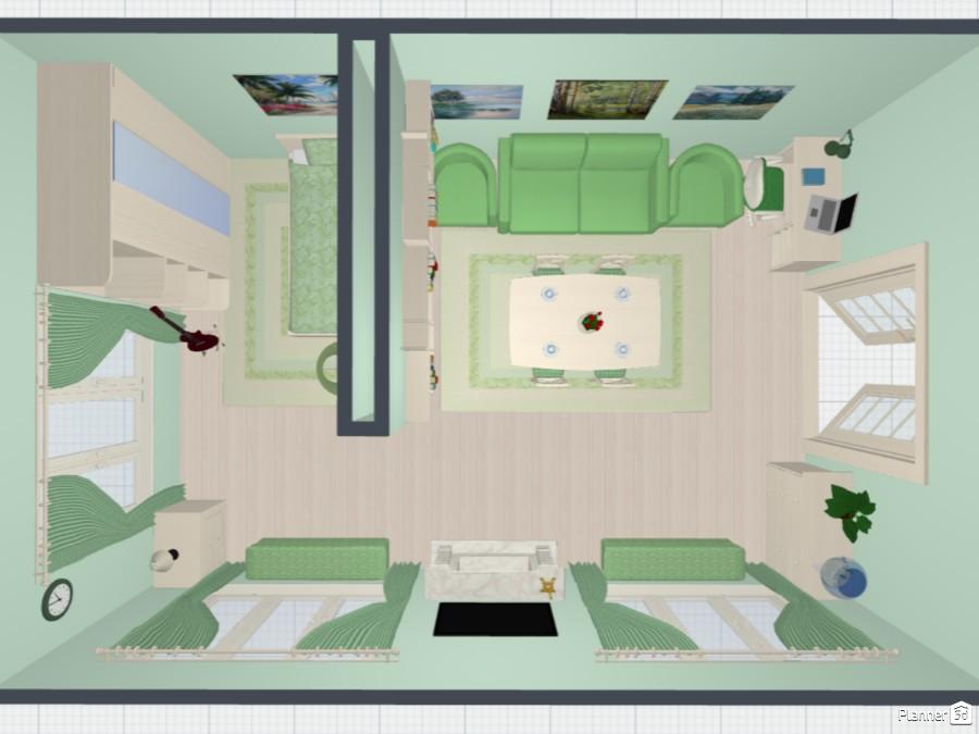 Дизайн комнаты в современном стиле 71425 by Мария Кирпа image