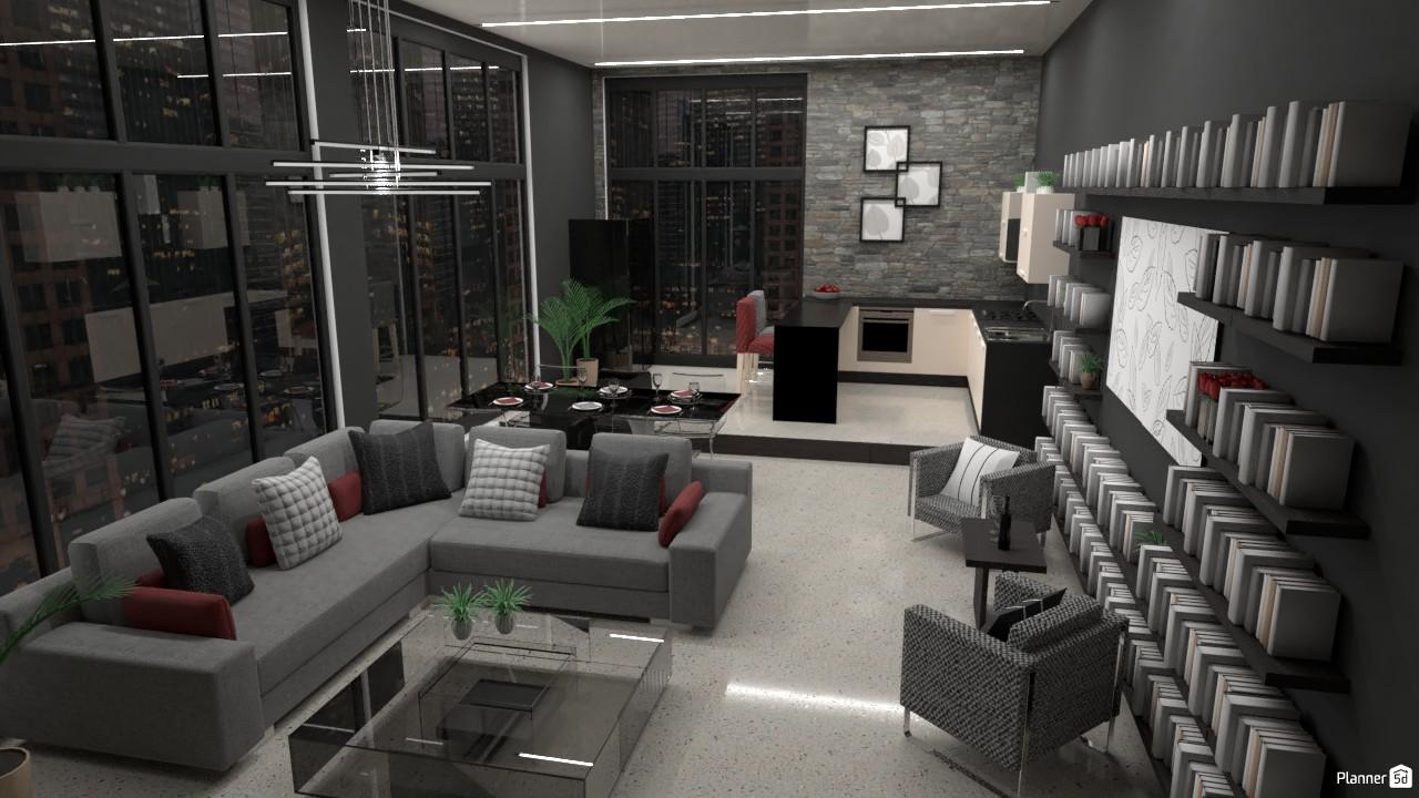 Penthouse room | Batalla de diseño. 4197939 by Hall Pat image