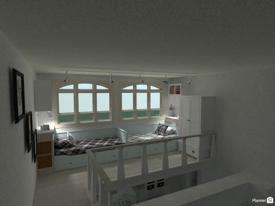 Casa Rustica: Soppalco Notte VSx - Idee per case ...
